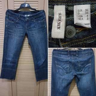 Mango Capri Jeans