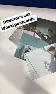 Seventeen director's cut Woozi postcards