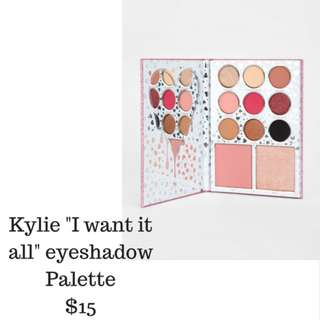 "Kylie ""I want it all"" Palette"