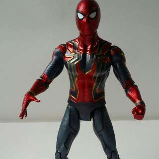 Iron Spiderman Action Figures