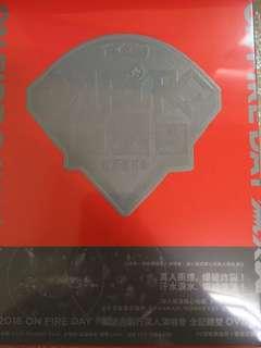 🚚 滅火器 樂團 on the fire day 萬人演唱會 dvd 超新。