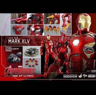 收 全新 IRON MAN MARK XLV MARK 45
