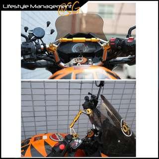 Motorcycle Bike Aluminium Handlebar Bar Rod