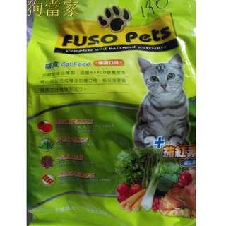 福壽貓食燻雞口味1.5kg
