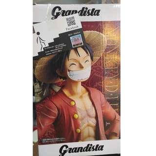 眼鏡廠 Banpresto One Piece 路飛 luffy Grandista 0.5 景品