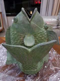 Vintage Metal Fish Ornament - CLEARANCE!!