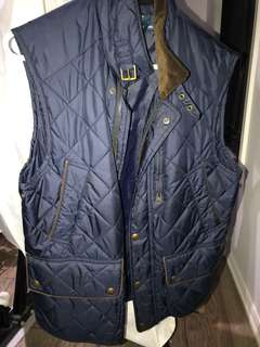Ralph Lauren quilted vest still in stores worth 350