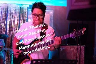 Music Theory and Bass Lessons