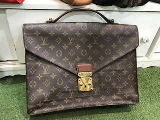 Authentic Vintage Louis Vuitton Monogram Briefcase