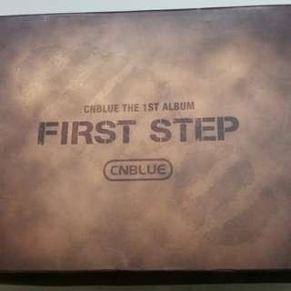 CNBLUE 1st album (Taiwan version)