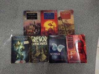 Cheap pre-loved books bundle