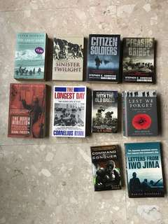 [Cheap] Various books on war