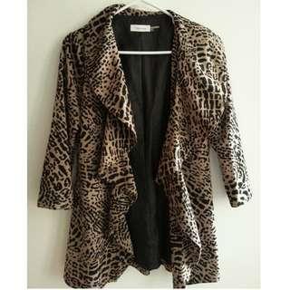 Calvin Klein Leopard Jacket