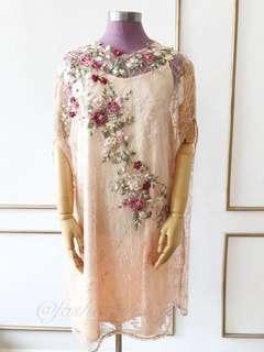 Louraine cape dress