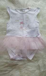 Mothercare Bodysuit w/ Tutu Dress