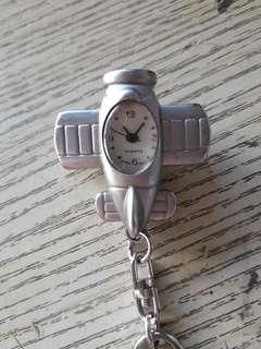 鎖匙扣飛機錶