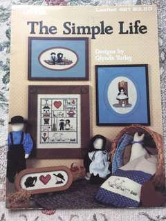 The Simple Life Cross Stitch Chart