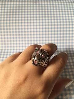Pink Lion Ring