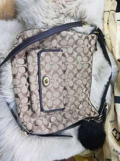 ORIGINAL COACH 2 WAY BAG