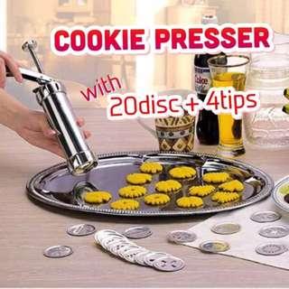 Cookie Making Gun, kitchen Tools Cookie Presser Lacing Mould Baking Tools Accessories (KA045) BN