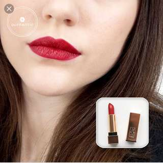 YSL rouge PUR couture the mats 204 used lightly