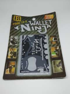 18 Tools in 1, Wallet Ninja for Sale