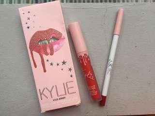 Kylie Lipkit New Pink Shade Cherry Pie