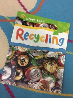 Educational book on Recyclihh for children