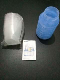 Avent VIA storage cups