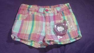Girls kids shorts