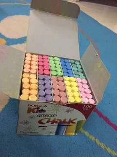 Brand New 100pcs Chalk