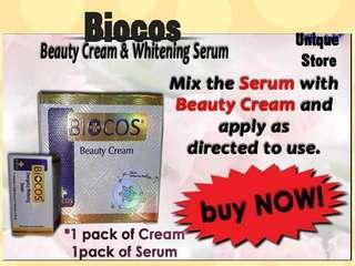 BIOCOS Emergency Whitening Cream & Serum