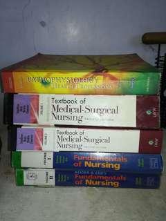 Assorted Nursing Books