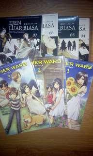(New!)Komik summer wars 1-3 (tamat) manga