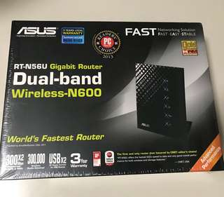 Brand New Asus RT-N56U Dual-band Wireless Router