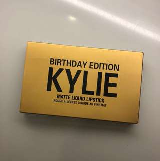 Kylie Birthday Edition inspired