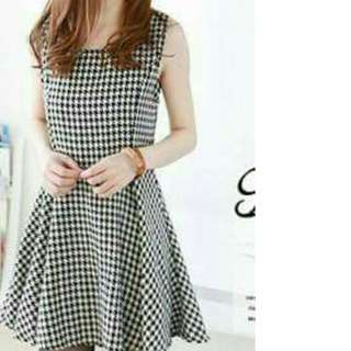 Korean Style Skater Dress