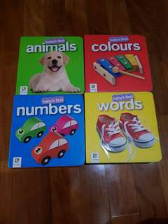 4 Baby's first Books