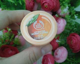 FREE ONGKIR JABODETABEK!! THE BODY SHOP LIP BUTTER MANGO 30ML ORIGINAL