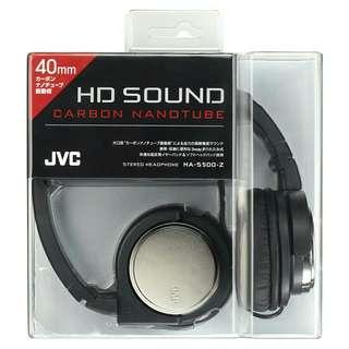 日本 jvc ha-s500 折疊立體音耳罩式耳機