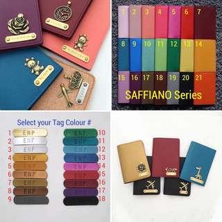 Custom passport cover personalised passport holder travel accessories