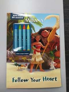 Disney Color book with colour Pencils