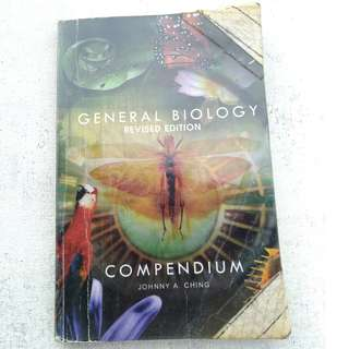 General Biology Compendium (Revised Edition) BY Johnny A. Ching