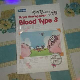 Buku Blood Type 3