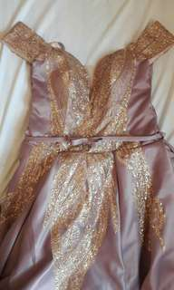 Pinkish Purple Ball Gown For Rent/Sale