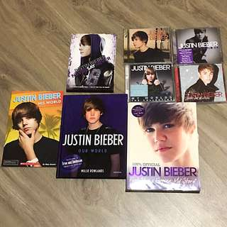 (ALL FOR $50) JB's official CD/DVDs and Book!
