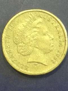 Australia $2 , 2007, VF