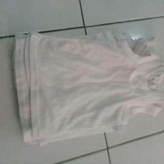 Kaos dalam putih