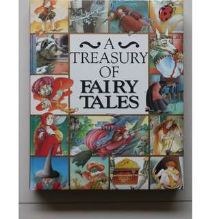 English Book : A Treasury of Fairy Tales