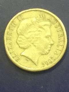 Australia $2 2006 , VF